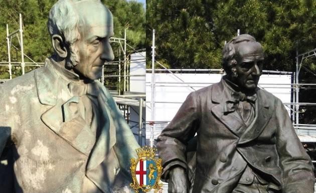 Lecco 125 anni fa veniva inaugurato il Monumento ad Alessandro Manzoni
