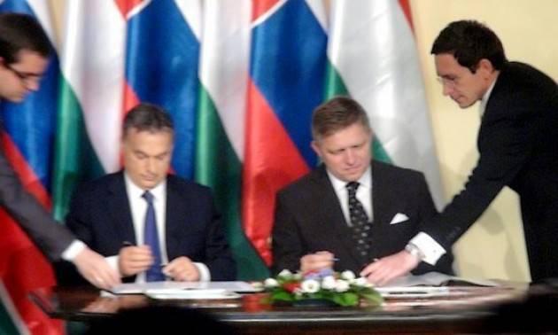 Fico (Presidente Consiglio UE ) a Orban: la Slovacchia rispetta risultati referendum ungherese