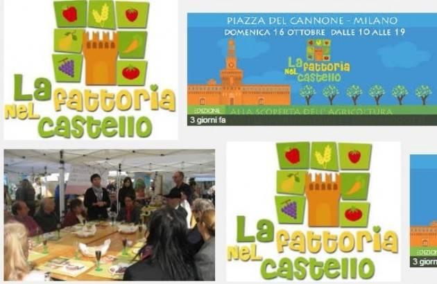 La fattoria nel castello domenica 16 ottobre a milano for Piazza del cannone