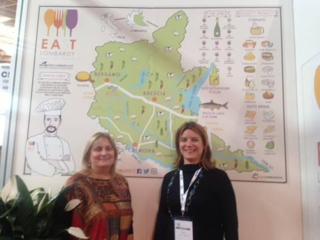 Il brand EAST Lombardy presentato al TTG di  Rimini  per Cremona  Presente Barbara Manfredini
