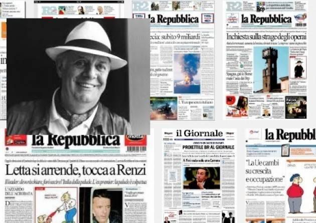 La Repubblica 'censura' la morte di Dario Fo. Non la acquisterò più Avv. Paolo Antonini