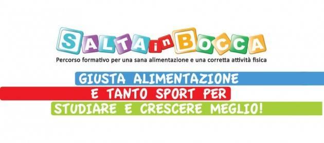 Contro l'obesità infantile, presentata alla Camera dei deputati la 4a edizione della campagna Salta in Bocca