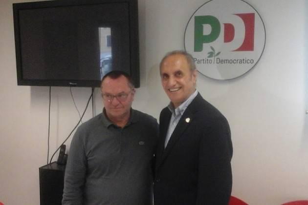 (Video) Basta un SI Anche ai cittadini italiani in USA Nestico (PD Italiani USA) incontra Pizzetti a Cremona