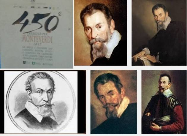 Cremona  Le Monteverdiane del 2017 Il 450esimo anniversario della nascita di Claudio Monteverdi