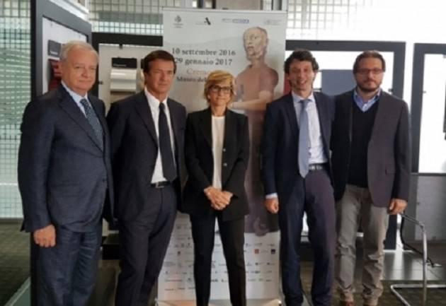 Janello Torriani  Presentazione a Bergamo della Mostra a cura del Comune di Cremona