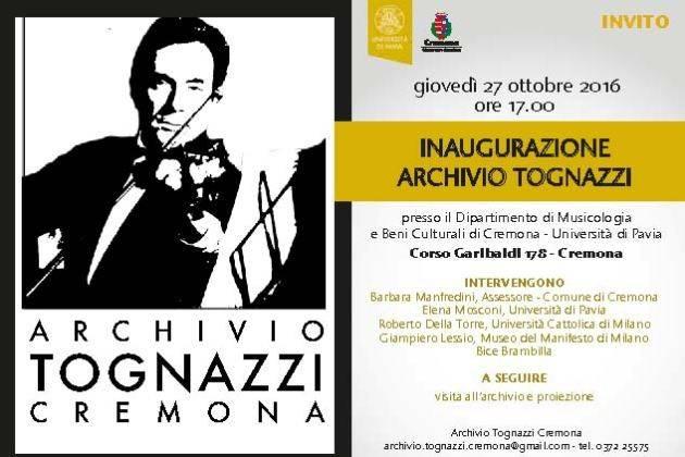 Cremona per Ugo, giovedì inaugura ufficialmente l'Archivio Tognazzi