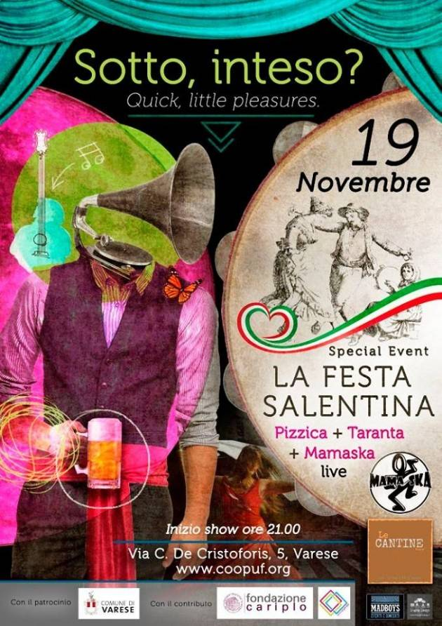 Festa Salentina a Varese con Mama Ska Live!