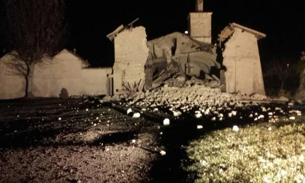 Solidarietà ed aiuto a Camerino di Franco Bordo (Sinistra Italiana)
