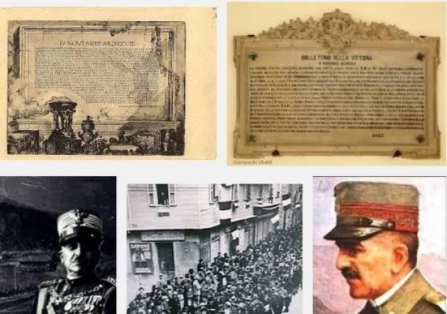 AccaddeOggi   #4novembre 1918 ore 12 La guerra contro l'Austria è  vinta