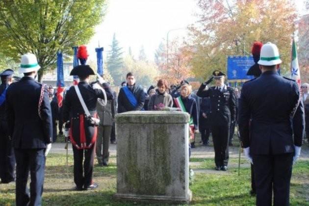 Cremona, sabato 12 novembre cerimonia al parco Caduti di Nassiriya