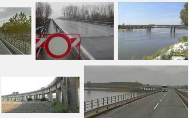 Viabilità Cremona-Parma Quando verrà riparato il ponte Giuseppe Verdi ? di Virginio Lini