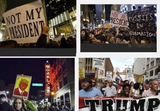 Le proteste contro la elezione di Trump sono democratiche? Di Gian Carlo Storti