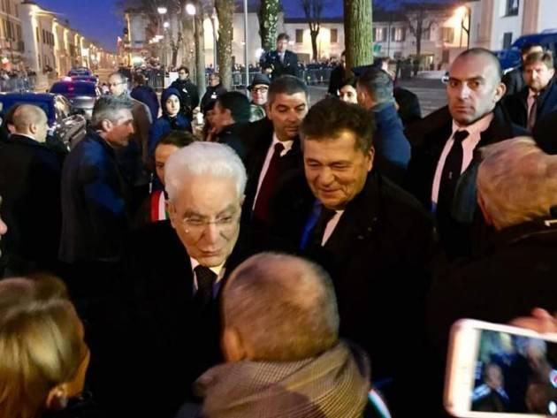 Il Presidente Sergio Mattarella visita Bozzolo