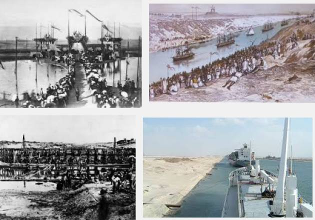 AccaddeOggi  #17novembre 1869 – Inaugurato in Egitto, il Canale di Suez