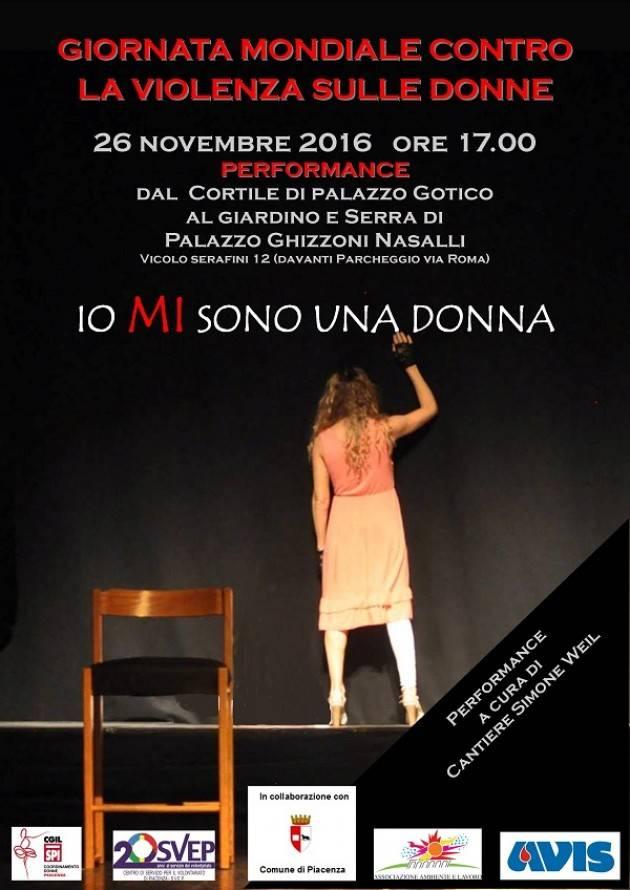 Piacenza Giornata contro la violenza alle donne. Presentazione delle iniziative.