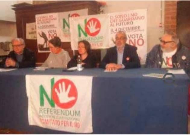 Cremona Verso il Referendum costituzionale del 4 dicembre Documento in 10 punti: La Sinistra è per il No