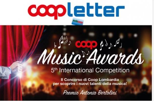A Cremona L'evento Coop Music Awards- Premio Antonio