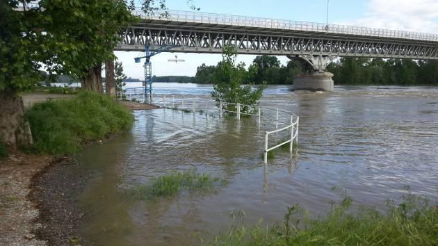 Piacenza Monitoraggio costante del fiume Po