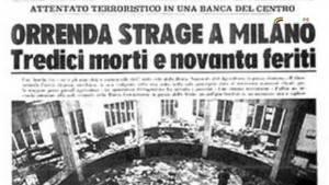 AccaddeOggi 12 dicembre 1969  la Strage di Piazza Fontana di Gian Carlo Storti