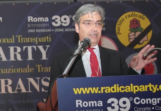 Referendum costituzionale: Dichiarazione di Maurizio Turco Partito Radicale