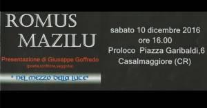 Mostra personale Mazilu - Pro Loco Casalmaggiore (CR)