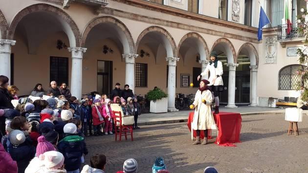 Crema 150 bambini hanno festeggiato Santa Lucia con il Fatf