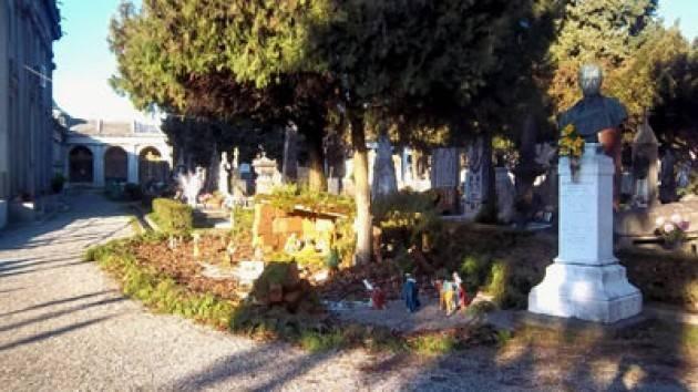 Presepio al Cimitero di Cremona Un semplice malinteso La nota della Diocesi di Cremona