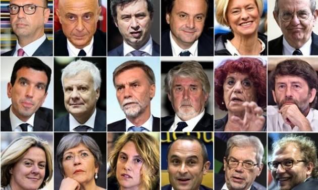 (Video) I ministri del Governo di Paolo Gentiloni e sue prime dichiarazioni