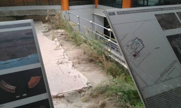 Cremona Chi deve pulire gli scavi archeologici della Domus del parcheggio di p.zza Marconi?