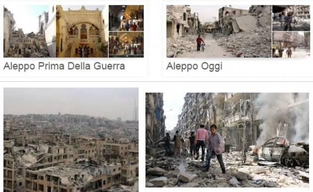 Arci Il mondo ha perso Aleppo, l'umanità ha perso se stessa.