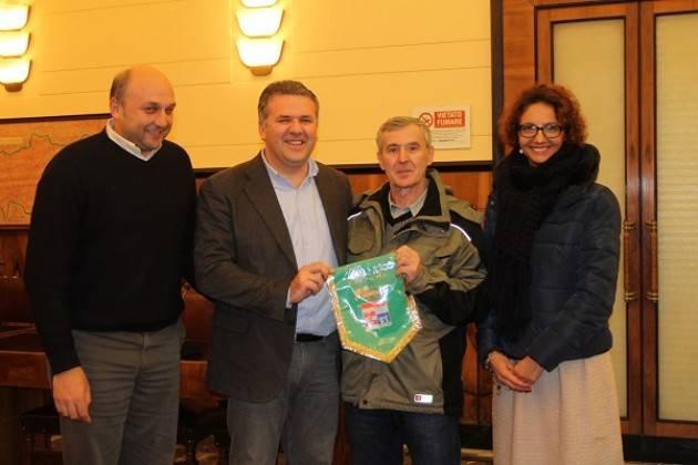 Uisp Cremona La delegazione bosniaca di Zavidovici  in Provincia