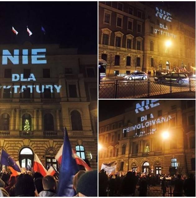 Polonia. Ho partecipato alla manifestazione contro le limitazioni delle libertà di Matteo Cazzulani