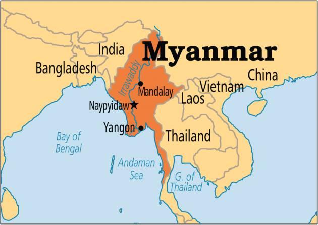 Amnesty  Denuncia campagna 'terra bruciata' a MYANMAR