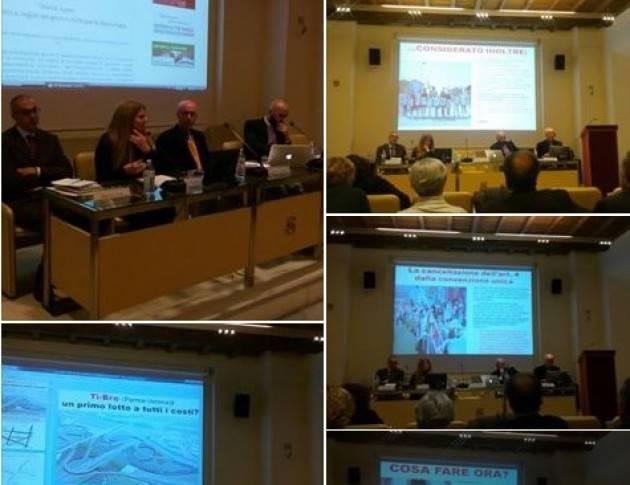 Cesare Vacchelli (Piadena) partecipa a Roma al convegno della Fondazione Basso sulle Grandi Opere