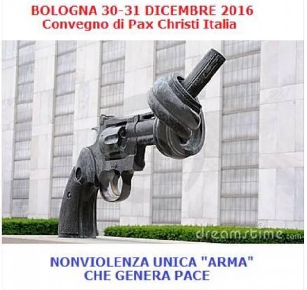 A Bologna convegno di Pax Christi  'Nonviolenza unica 'arma' che genera pace'