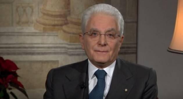 (Video) Il saluto di fine anno 2016 di Mattarella: ' Si andrà al voto solo con regole chiare'