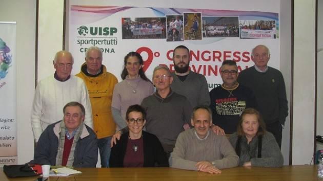 9° Congresso Uisp Cremona Luca Zanacchi nuovo Presidente Provinciale