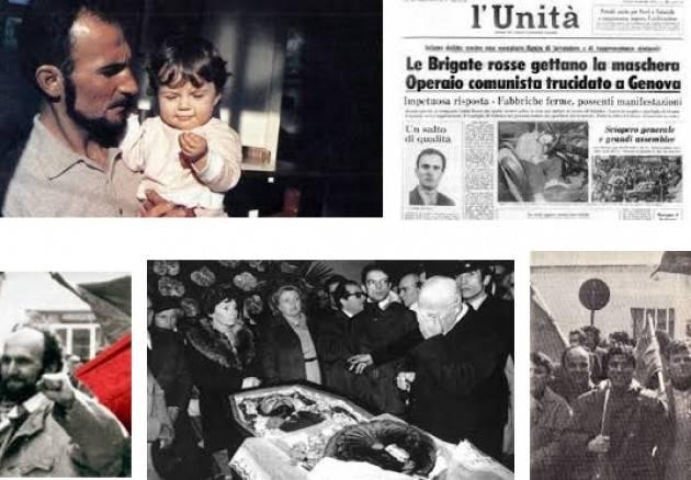 AccaddeOggi Genova, 24 gennaio 1979 GUIDO ROSSA assassinato dalle Brigate Rosse Le parole di  Sandro Pertini
