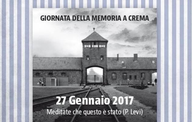 Giornata della memoria, Crema ricorda le vittime dell'Olocausto