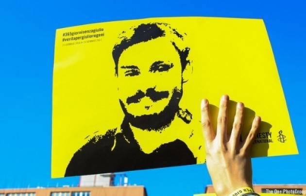 Amnesty Migliaia  di persone in piazza nella 24 città per Giulio Regeni