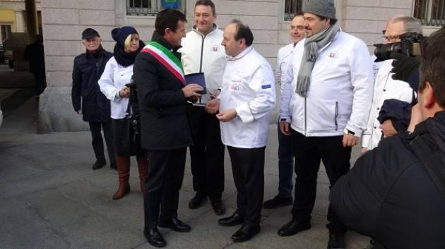 Bergamo dona un pullmino alla FIC  per raggiungere Amatrice