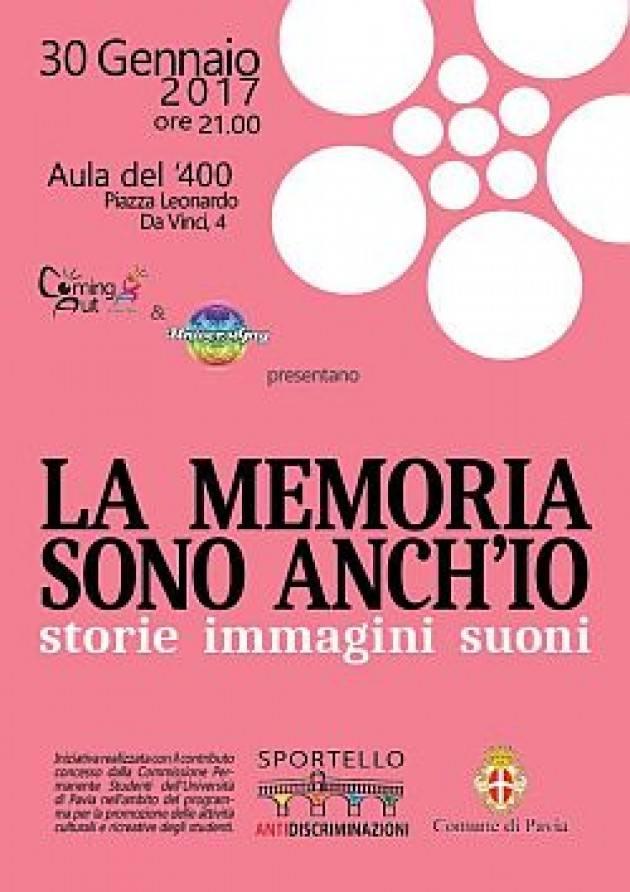 Pavia - LA MEMORIA SONO ANCH'IO