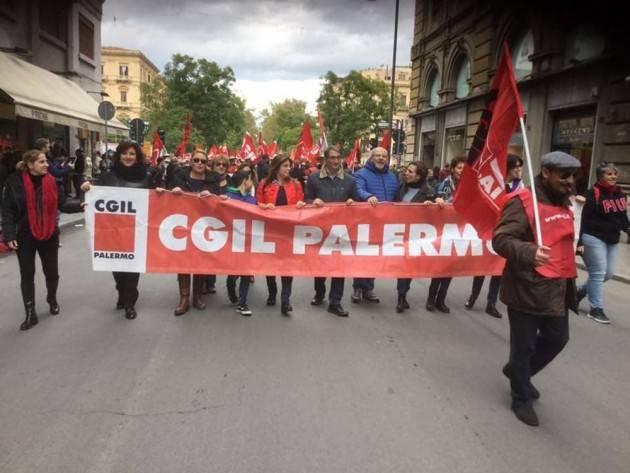 Sicilia Palermo capitale cultura 2018. Cgil: grande occasione