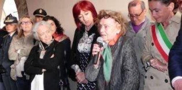 Oggi si è svolto il funerale di Francesca Marazzi Il saluto di Bonaldi e di altri amici e compagni