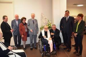 Cremona Festeggiamenti alla Fondazione La Pace in occasione dell'Anniversario dell'apertura.