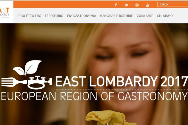 Crema, martedì incontro su East Lombardy, Regione Europea della Gastronomia 2017