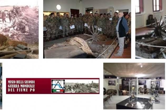 Mantova  Rientrata da Kirov una delegazione del Museo della Seconda Guerra Mondiale del fiume Po