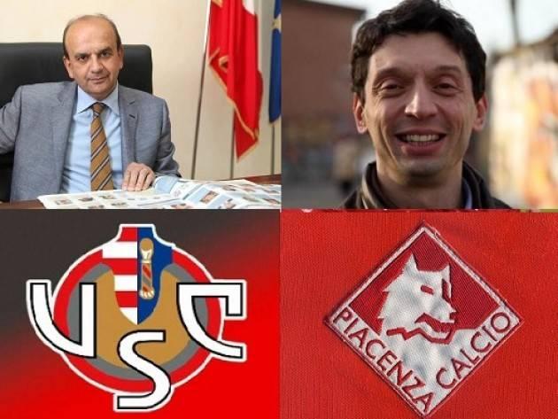 Dosi e Galimberti, in tribuna il derby dei sindaci Piacenza-Cremonese