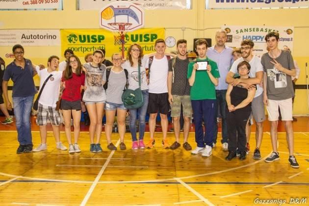 Oggi domenica 12 febbraio penultima giornata campionato UISP Baskin