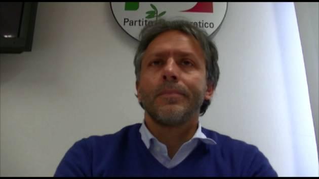 (Video) Andrea Virgilio  Il PD  non ha bisogno di scissioni ma del  congresso ed elezioni al più presto.
